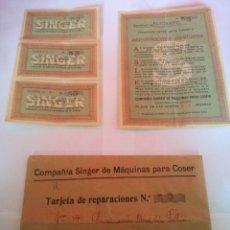 Coleccionismo Papel Varios: LOTE DE TARJETA DE REPARACIONES 53 SUCURSAL DE ALICANTE. Lote 156245550