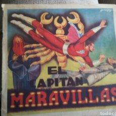 Coleccionismo Papel Varios: ALBUM ANTIGUO DEL CAPITAN MARAVILLAS ORIGINAL Y COMPLETO.. Lote 156559108
