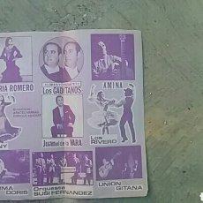 Coleccionismo Papel Varios: PROGRAMA DE TEATRO DE MANO. Lote 156911033