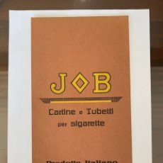 Coleccionismo Papel Varios: CARTEL CARTÓN PUBLICIDAD PAPEL DE FUMAR JOB. Lote 157322308