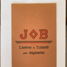 Coleccionismo Papel Varios: CARTEL CARTÓN PUBLICIDAD PAPEL DE FUMAR JOB. Lote 157322534