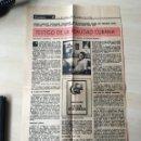 Coleccionismo Papel Varios: ANTÓN ARRUFAT EN EL GRAMMA, LA HABANA, 27 DE ENERO DE 1985. RECORTE DE PRENSA.. Lote 157323746