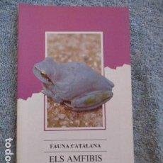 Coleccionismo Papel Varios: FAUNA CATALANA. ELS AMFIBIS. GENERALITAT DE CATALUNYA.. Lote 181100926