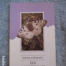 Coleccionismo Papel Varios: FAUNA CATALANA. ELS INVERTEBRATS. GENERALITAT DE CATALUNYA.. Lote 157404998