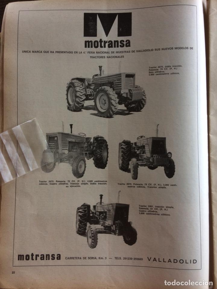 PUBLICIDAD TRACTORES MOTRANSA DE 1976 (Coleccionismo en Papel - Varios)