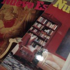 Coleccionismo Papel Varios: NUEVO ESTILO LOTE 2. Lote 157954786