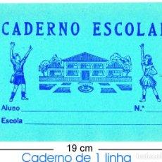 Coleccionismo Papel Varios: 2 CUADERNOS ESCOLARES MUY ANTIGOS - ANOS 50. Lote 158568914