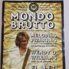 Coleccionismo Papel Varios: MONDO BRUTO 40. Lote 158760750