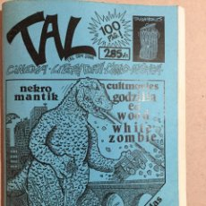 Coleccionismo Papel Varios: FANZINE TAL NÚMERO 3. Lote 158760758