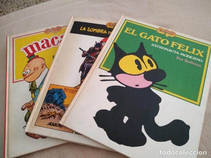 LOTE DE 3 LIBROS TEBEOS AÑOS DE ORO (Coleccionismo en Papel - Varios)