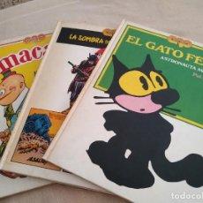Coleccionismo Papel Varios: LOTE DE 3 LIBROS TEBEOS AÑOS DE ORO. Lote 158923774