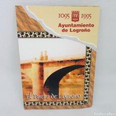Coleccionismo Papel Varios: EL FUERO DE LOGROÑO - CARPETA + DISCKETES - CAR141. Lote 159002117