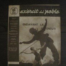 Coleccionismo Papel Varios: GUERRA CIVIL-EXERCIT DEL POBLE-REVISTA PRO EXERCIT POPULAR-Nº4-1 DE JULIOL 1937-VER FOTOS-(V-16.299). Lote 159111490