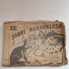 Coleccionismo Papel Varios: ANTIGUO SOBRE MARAVILLOSOS - 2 PESETAS. Lote 159157342