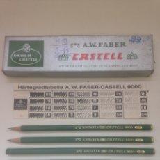 Coleccionismo Papel Varios: FABER CASTELL ANTIGUOS NUEVOS. Lote 159307520