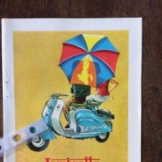 Coleccionismo Papel Varios: PUBLICIDAD MOTO LAMBRETTA AÑOS 60. Lote 159480910