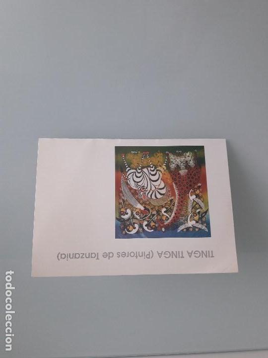 TINGA TINGA (PINTORES DE TANZANIA) - EXPOSICIÓN SALA PAJARITA - VITORIA - 1997 - ARTE AFRICANO (Coleccionismo en Papel - Varios)