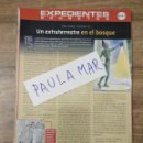 Coleccionismo Papel Varios: MFF.- EXPEDIENTES SECRETOS.- UN EXTRATERRESTRE EN EL BOSQUE.-. Lote 159565498