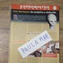 Coleccionismo Papel Varios: MFF.- EXPEDIENTES SECRETOS.- CASO HERRMANN: DE ESCEPTICO A ABDUCIDO.-. Lote 159567858