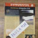 Coleccionismo Papel Varios: MFF.- EXPEDIENTES SECRETOS.- ASOMBROSAS FOTOGRAFIAS OVNI.-. Lote 159568082