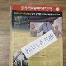 Coleccionismo Papel Varios: MFF.- EXPEDIENTES SECRETOS.- CASO SCHIRMER; UN OVNI MAL APARCADO.-. Lote 159568934
