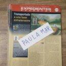 Coleccionismo Papel Varios: MFF.- EXPEDIENTES SECRETOS.- TRANSPORTADO A UNA BASE EXTRATERRESTRE.-. Lote 159569614