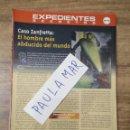 Coleccionismo Papel Varios: MFF.- EXPEDIENTES SECRETOS.- CASO ZANFRETTA: EL HOMBRE MAS ABDUCIDO DEL MUNDO.-. Lote 159570294