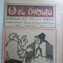 Coleccionismo Papel Varios: EL CONDUTO. ENTULLO PA TOA LA SEMANA. 1971. Nº 127. CHO JUAA. SUPLEMENTO HUMORÍSTICO. Lote 159615994
