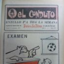 Coleccionismo Papel Varios: EL CONDUTO. ENTULLO PA TOA LA SEMANA. 1973. Nº 271. CHO JUAA. SUPLEMENTO HUMORÍSTICO. Lote 159616170