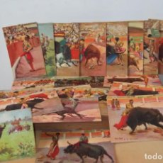 Coleccionismo Papel Varios: -COLECCION POSTALES DE TOROS-CIRCA 1930. Lote 159843618