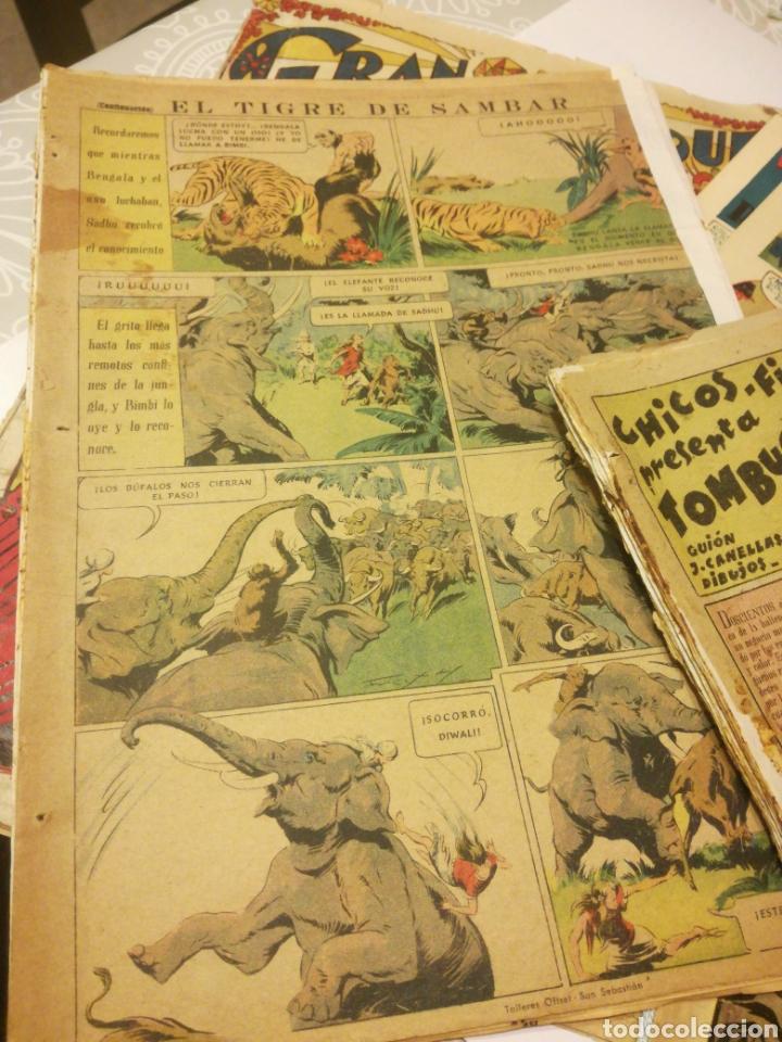 Coleccionismo Papel Varios: LOTE DE TEBEOS VARIOS - Foto 3 - 159912488