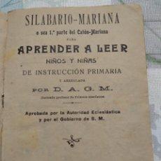 Coleccionismo Papel Varios: CARTILLA LIBRITO DE APRENDIZAJE. Lote 160051537
