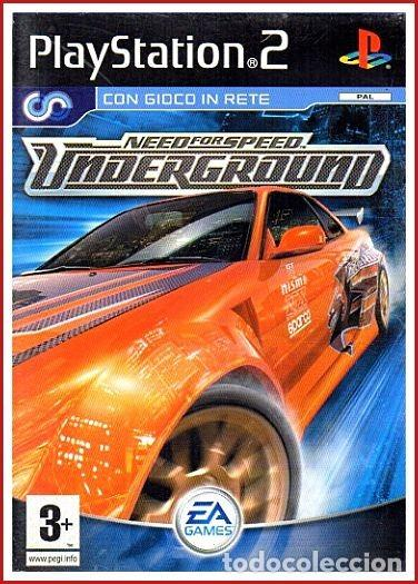 Caratula Ps2 Need For Speed Underground Buy Other Articles Made