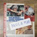 Coleccionismo Papel Varios: MFF.- COLECCIONABLE: GRANDES ROMANCES DE HOLLYWOOD.- PAUL NEWMAN Y JOANNE WOODWARD.-. Lote 160944942