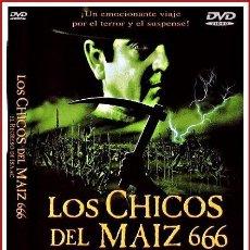 Coleccionismo Papel Varios: CARATULA ORIGINAL DVD LOS CHICOS DEL MAIZ 666 EL REGRESO DE ISAAC. Lote 160989221