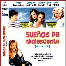 Coleccionismo Papel Varios: CARATULA ORIGINAL DVD SUEÑOS DE ADOLESCENTE. Lote 160989285