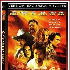 Coleccionismo Papel Varios: CARATULA ORIGINAL DVD ANÓNIMOS. Lote 160989305