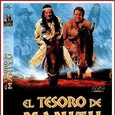 Coleccionismo Papel Varios: CARATULA ORIGINAL DVD EL TESORO DE MANITU. Lote 160989313