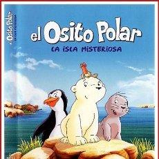 Coleccionismo Papel Varios: CARATULA ORIGINAL DVD EL OSITO POLAR LA ISLA MISTERIOSA. Lote 160989317