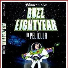 Coleccionismo Papel Varios: CARATULA ORIGINAL DVD BUZZ LIGHTYEAR LA PELÍCULA. Lote 160989325