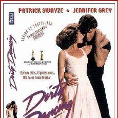 Coleccionismo Papel Varios: CARATULA ORIGINAL DVD DIRTY DANCING. Lote 160989341