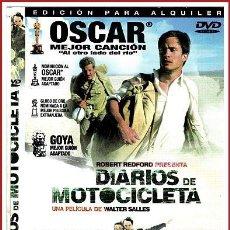 Coleccionismo Papel Varios: CARATULA ORIGINAL DVD DIARIOS DE MOTOCICLETA. Lote 160989345