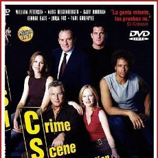 Coleccionismo Papel Varios: CARATULA ORIGINAL DVD CSI CRIME SCENE INVESTIGATION LA PELÍCULA. Lote 160989353