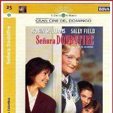 Coleccionismo Papel Varios: CARATULA ORIGINAL DVD SEÑORA DOUBTFIRE. Lote 160989365