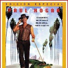 Coleccionismo Papel Varios: CARATULA ORIGINAL DVD COCODRILO DUNDEE LOS ANGELES. Lote 160989377