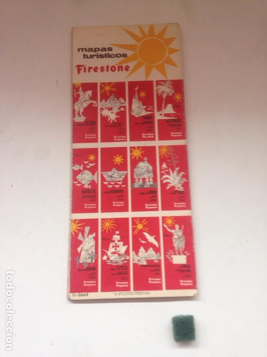 Coleccionismo Papel Varios: MAPAS DE CARRETERAS - FIRESTONE HISPANIA 3 - Foto 2 - 161024368