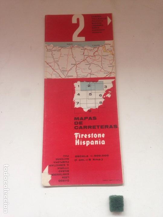 MAPAS DE CARRETERAS - FIRESTONE HISPANIA 2 (Coleccionismo en Papel - Varios)
