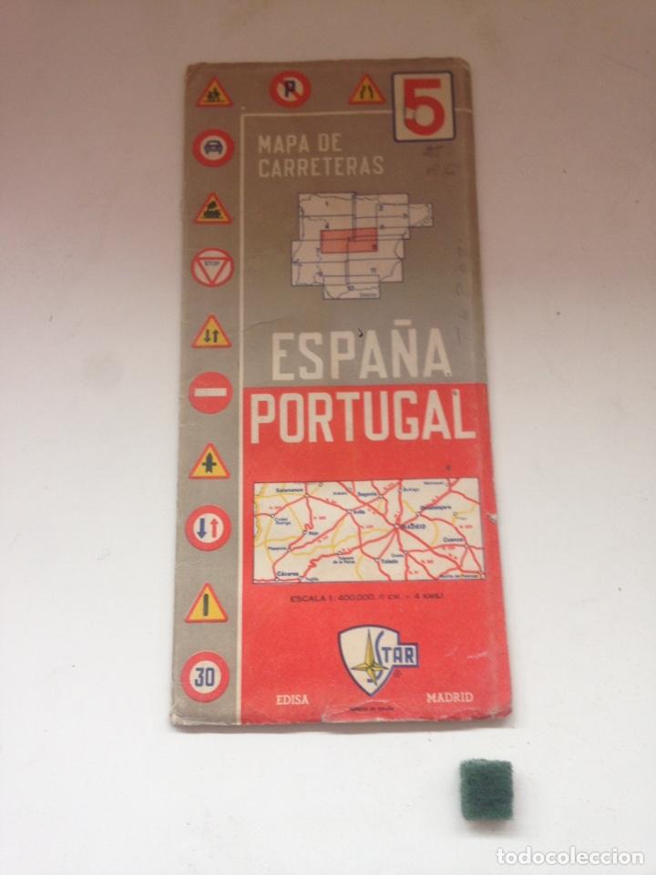MAPA DE CARRETERAS - ESPAÑA PORTUGAL 5 (Coleccionismo en Papel - Varios)