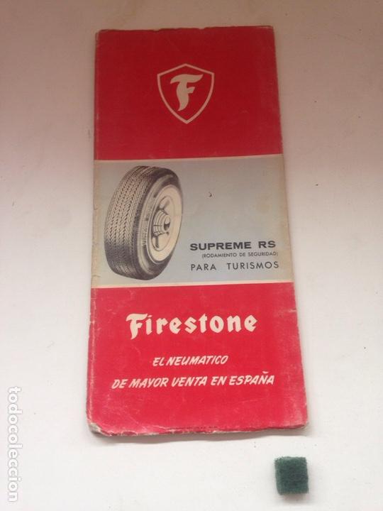 MAPA DE CARRETERAS - FIRESTONE 5 (Coleccionismo en Papel - Varios)