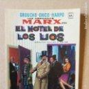 Coleccionismo Papel Varios: FOLLETO DE MANO.PROGRAMA DE CINE.PELICULA EL HOTEL DE LOS LÍOS. LOS HERMANOS MARX EN.. Lote 161083918